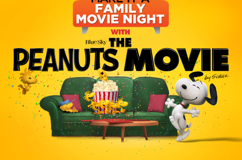 The Peanuts Movie Celebration + Giveaway