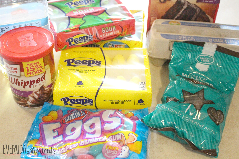peeps cake ingredients