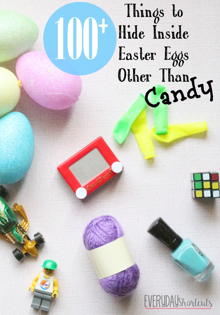 things to hide inside easter eggs