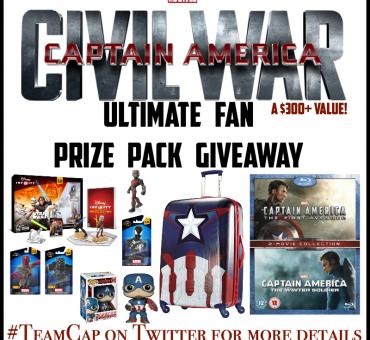 Captain America Civil War Ultimate Fan Prize Pack Giveaway ($300+ value)