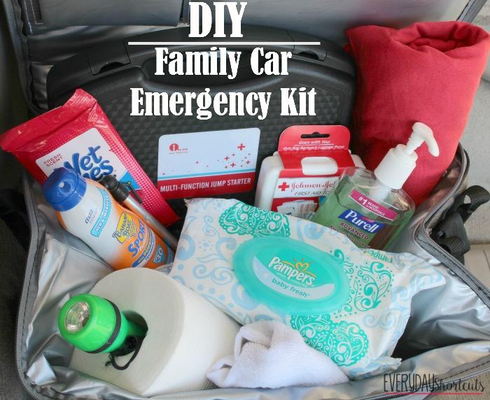Diy Family Car Emergency Kit Everyday Shortcuts