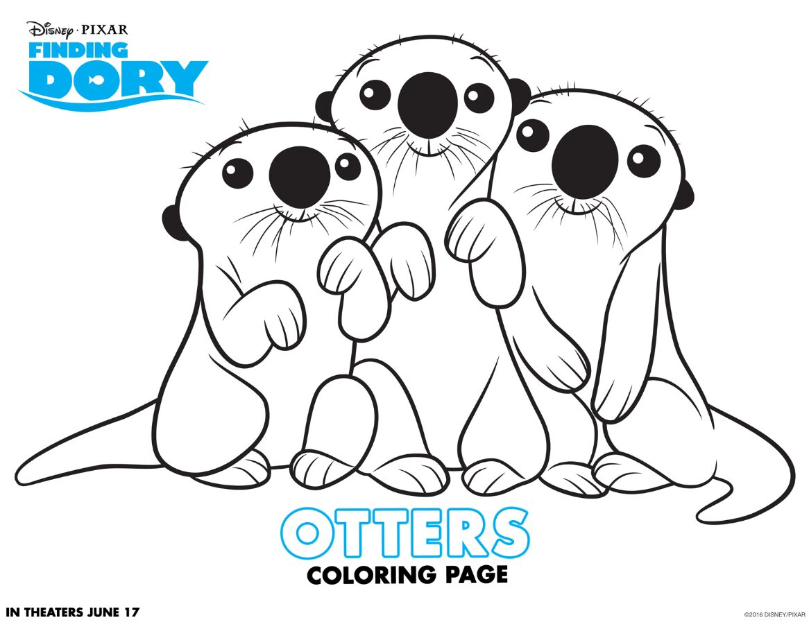 finding dory otter page