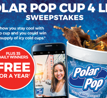 "Circle K ""Free Polar Pop For a Year"" Sweepstakes + $100 Gift Card Giveaway"