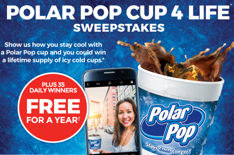 """Circle K """"Free Polar Pop For a Year"""" Sweepstakes + $100 Gift Card Giveaway"""