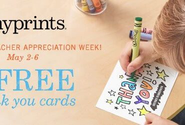 5 FREE Thank You Cards from Tiny Prints #TinyThanks