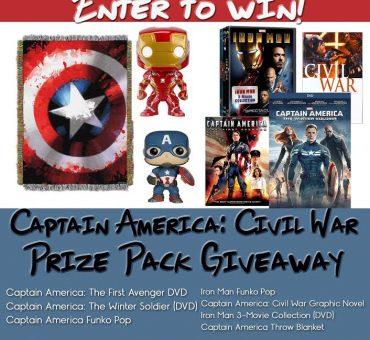 Captain America: Civil War Prize Pack Giveaway