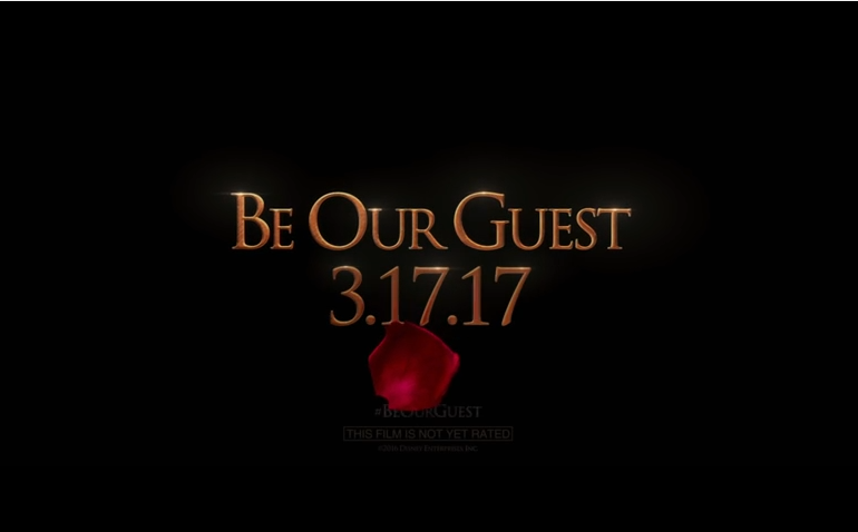 Disney's BEAUTY AND THE BEAST Teaser Trailer #BeOurGuest