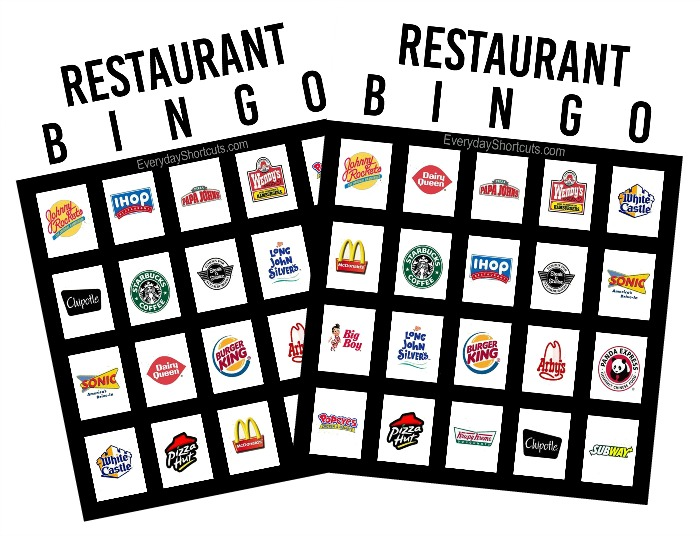 restaurant-car-bingo