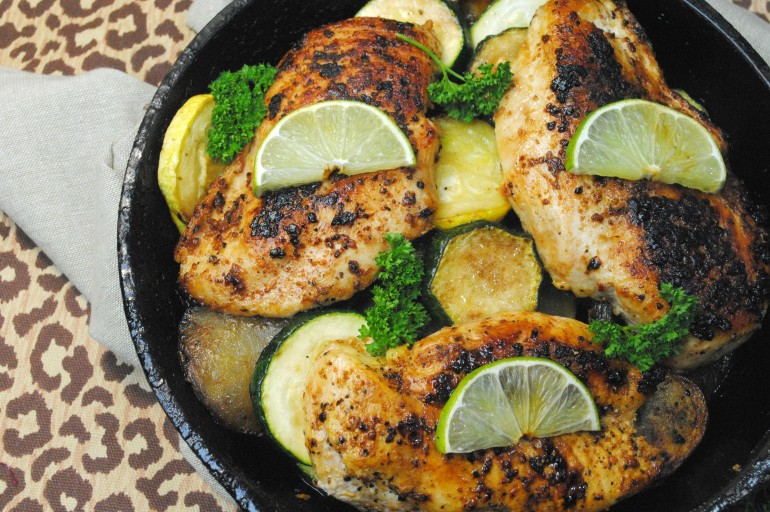 One Pot Citrus Chicken