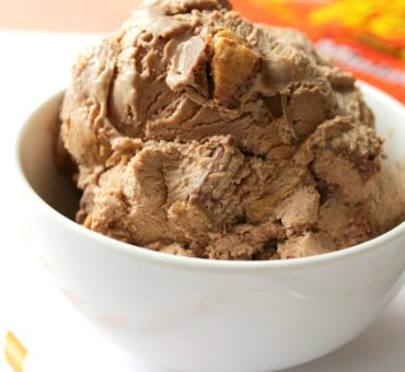 Reese's No Churn Peanut Butter Ice Cream