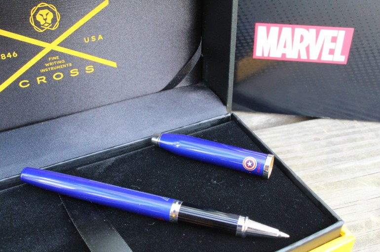 Give the Superhero Dad a #WriteGift of Marvel CROSS #SuperPen for Father's Day