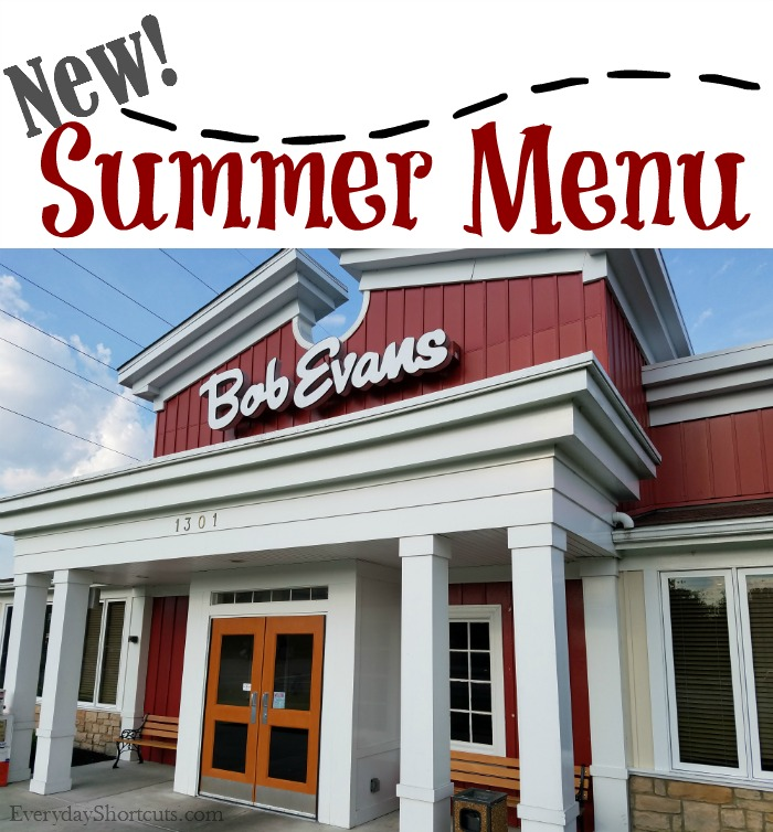 photo regarding Bob Evans Printable Menu called Bob Evans Clean Summer time Menu - Day by day Shortcuts