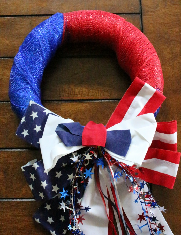 patriotic wreath process