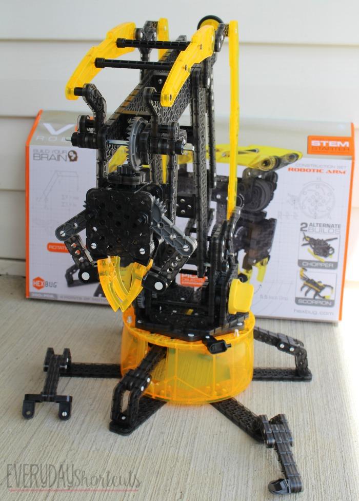 robotics arm front view