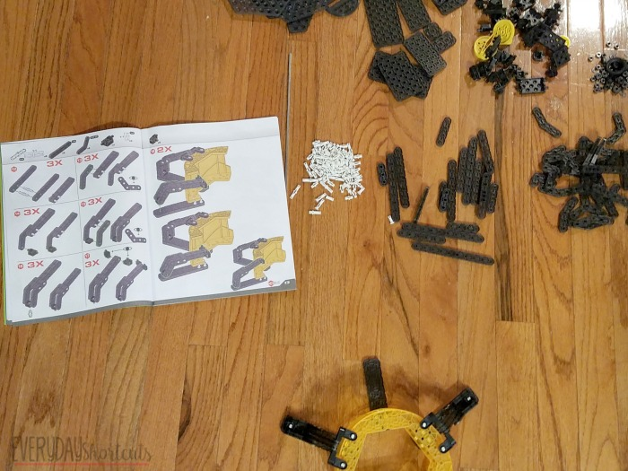 robotics arm pieces