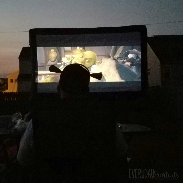 shrek movie outdoors