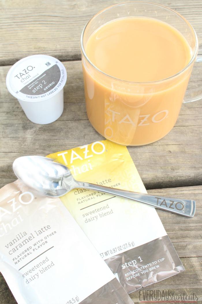tazo chai tea kcup
