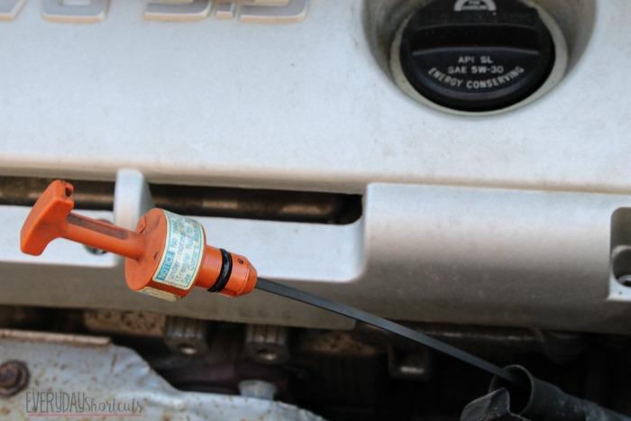 transmission fluid dipstick
