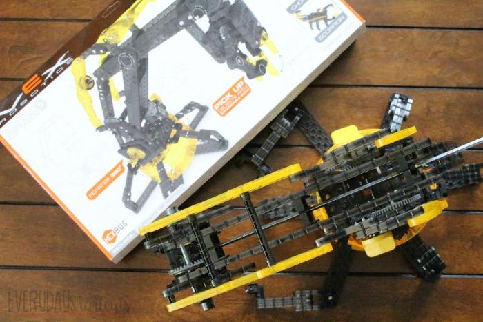 vex robotic arm top view