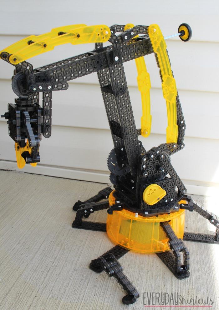 vex robotics arm by hexbug