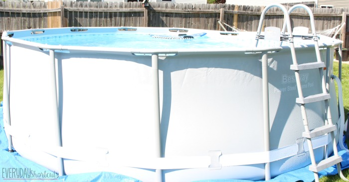 bestway power steel frame pool