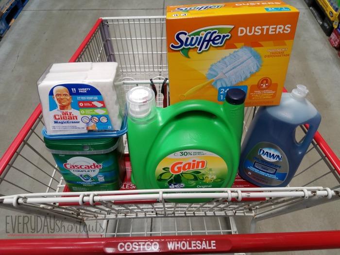 costco pg supplies