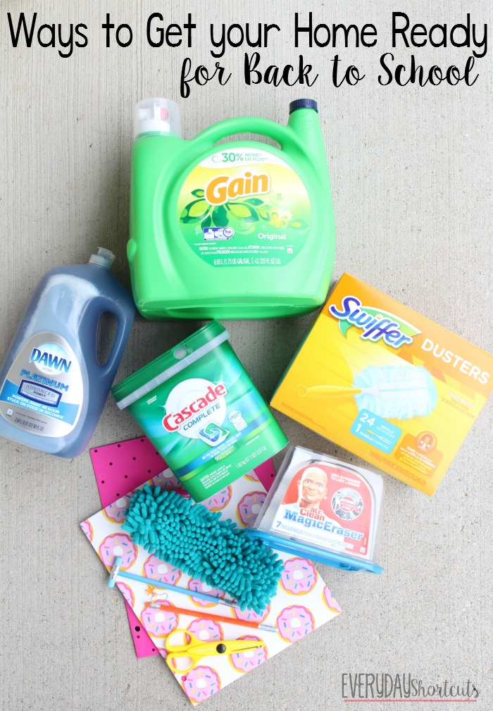 ways to get your home ready for back to school