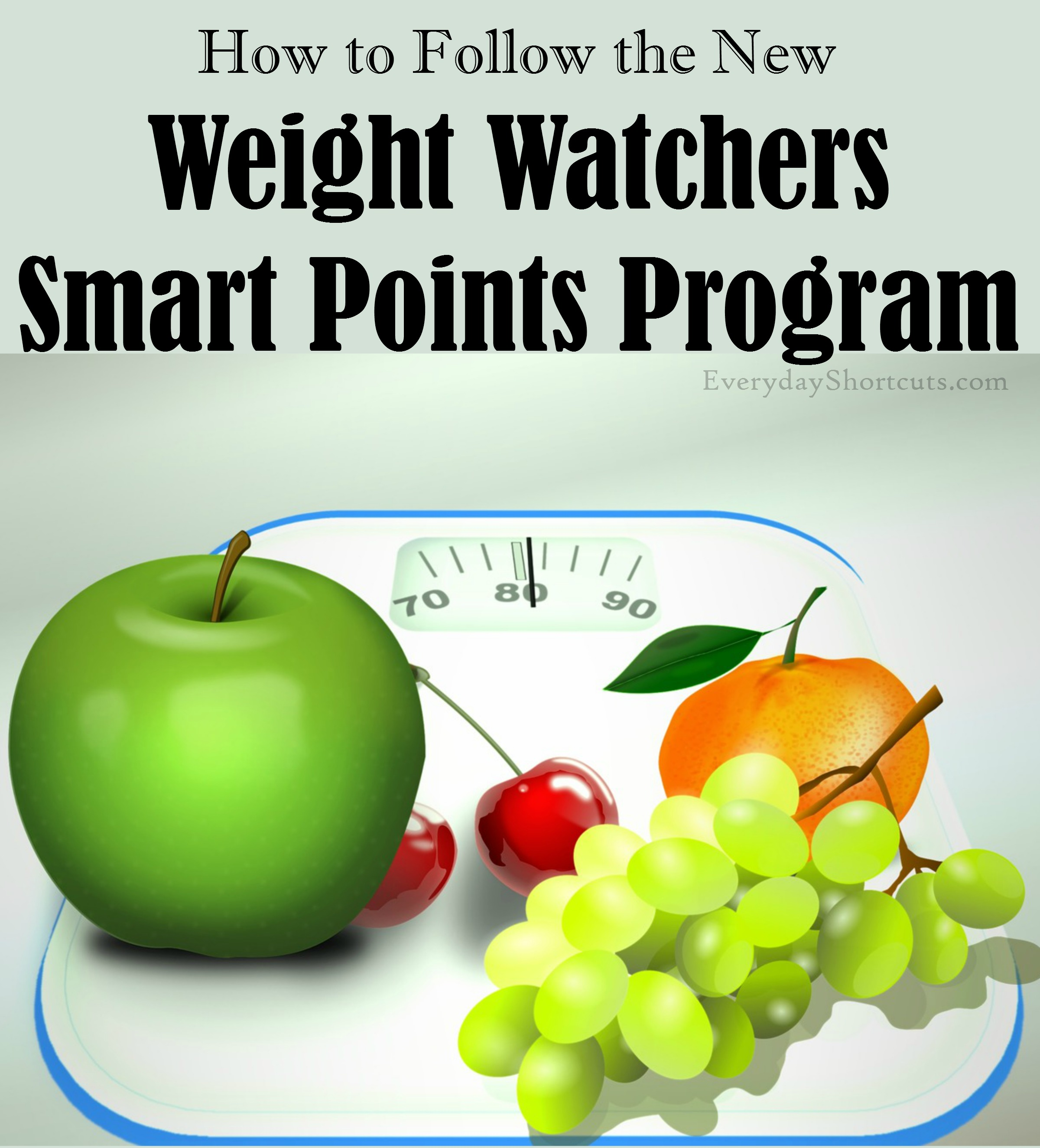How to Follow Weight Watchers Smart Points Program