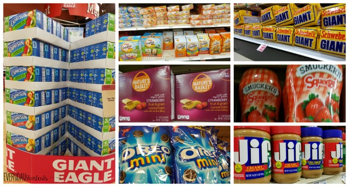 items at giant eagle