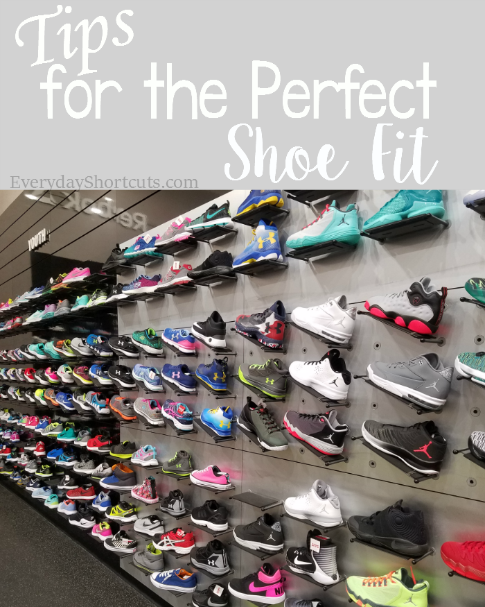 tips for the perfect shoe fit