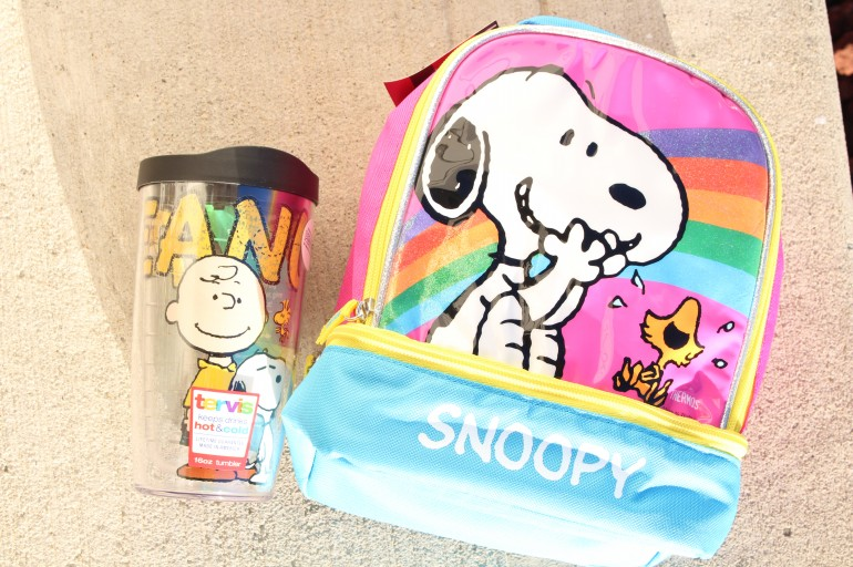 Head Back to School with a Snoopy Lunchbox & a Peanuts Tervis Tumbler