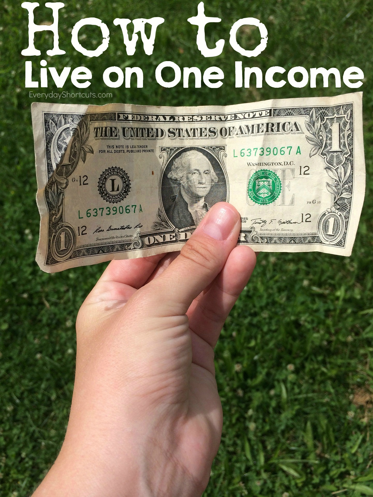 how-to-live-on-one-income