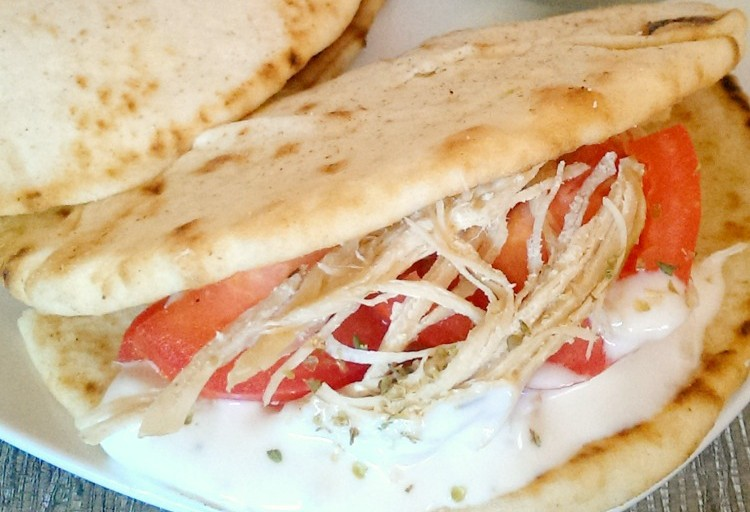 Crock Pot Chicken Gyros