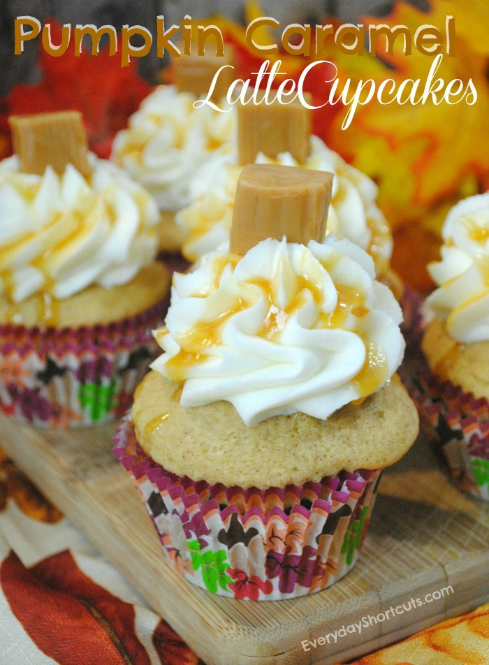 Pumpkin-Caramel-Latte-Cupcakes