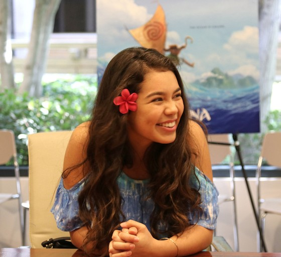 Exclusive Interview with Auli'i Cravalho as the Voice of Disney's Moana