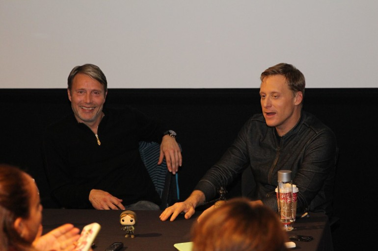 Exclusive Interview with Alan Tudyk & Mads Mikkelsen from Rogue One: A Star Wars Story
