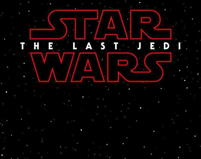 Star Wars: Episode VIII is Named The Last Jedi But What is Up with the Red Logo? #TheLastJedi