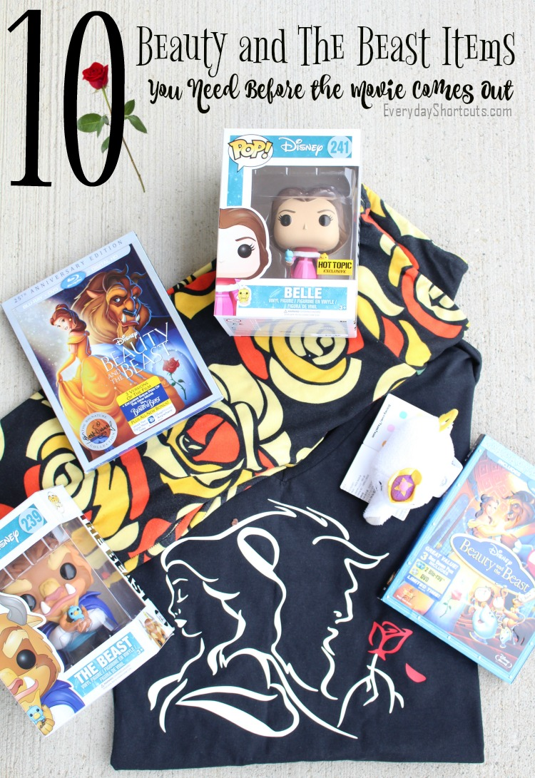 Beauty and The Beast Items You Need Before the Movie Comes Out