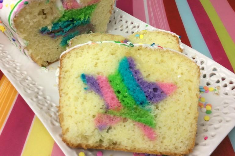 Unicorn Loaf Cake