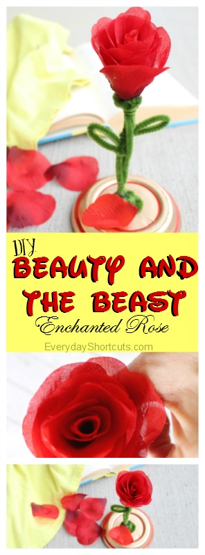 Beauty-and-The-Beast-Enchanted-Rose-Craft