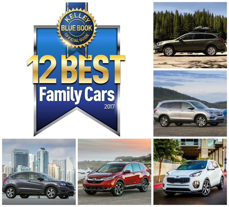 12 Best Family Cars Of 2017