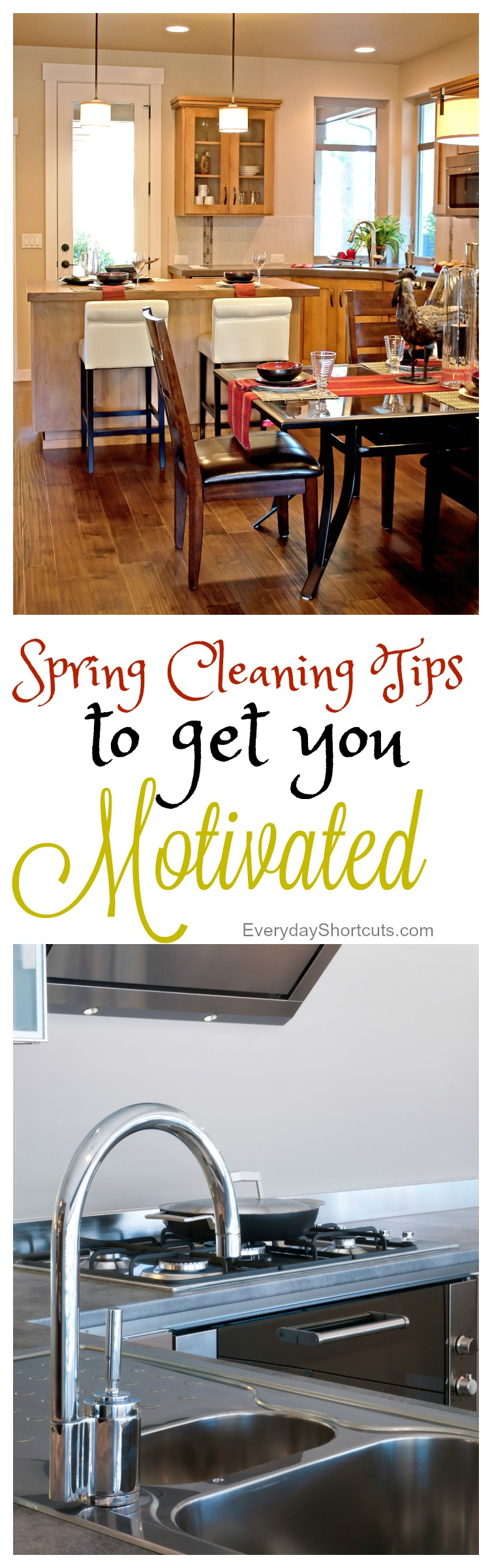 Spring Cleaning Tips to Get you Motivated