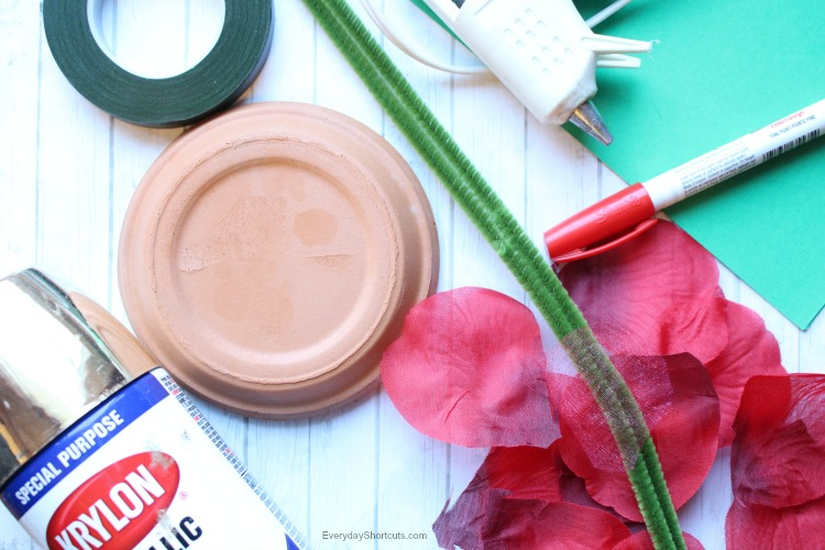 beauty and the beast enchanted rose supplies