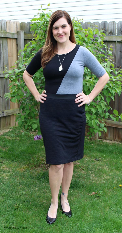 julia dress with cassie skirt