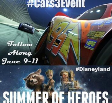 I'm Headed to Disneyland for Cars 3, Summer of Heroes and More