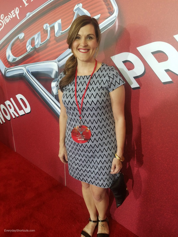 Cars 3 Red Carpet Premiere Experience
