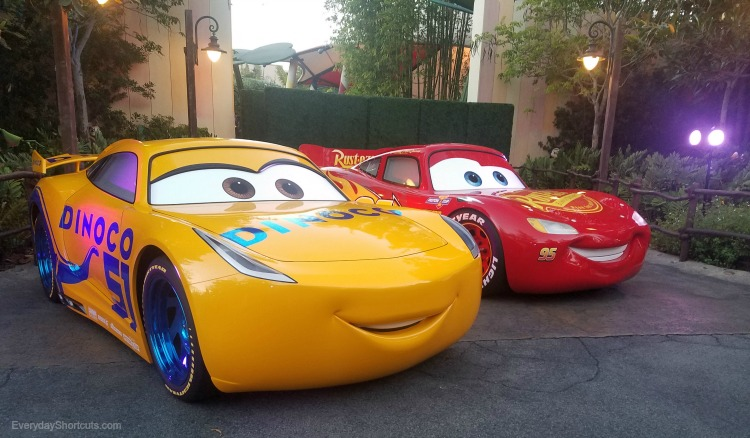 lightning mcqueen and cruz