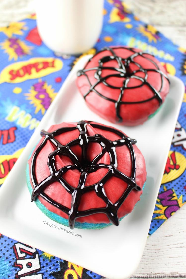 spider man donuts