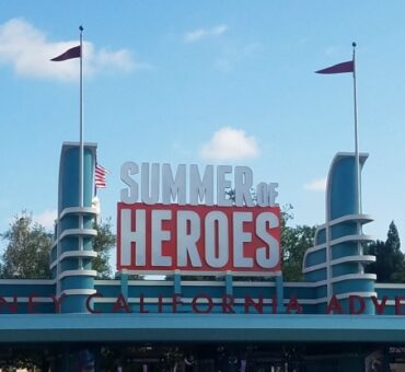 Disneyland Summer of Heroes Experience