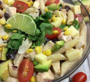 Chipotle Ranch Pasta Salad Recipe